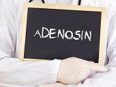 Doctor Shows Information: Adenine Riboside In German