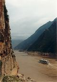 gorge of Yangtze river