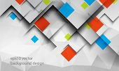 eps10 vector geometric elements business background