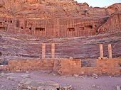 Amphitheater In Petra, Jordan