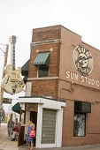 Tourists At Sun Studio
