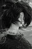Gothic mannequin scarecrow