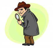 Постер, плакат: Detective man
