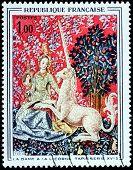 Unicorne Stamp