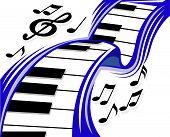 Piano wave