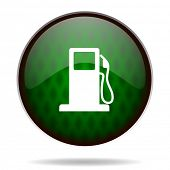 petrol green internet icon