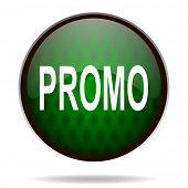 promo green internet icon