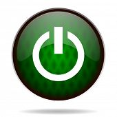 power green internet icon