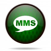 mms green internet icon