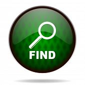 find green internet icon