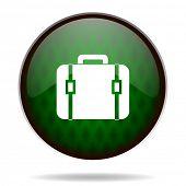 bag green internet icon