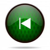prev green internet icon