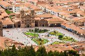 Plaza de Armas, em Cusco, Peru