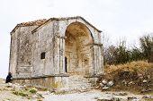 Mausoleum Dzhanike-khanym In Chuft-kale Town