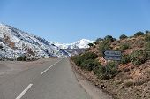 Road Through Atlas Mountains