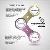 Modern presentation template vector