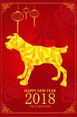 Chinese New Year Design For Year Of Dog