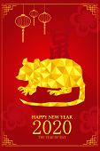 Chinese New Year Design For Year Of Rat