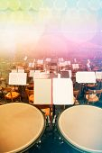 Orchestra Seats and Timpani on Stage
