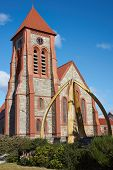 picture of falklands  - Historic Christchurch Cathedral in Stanley - JPG