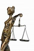 stock photo of justice  - sculpture of justice - JPG