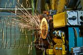 picture of reinforcing  - Spot welding machine - JPG
