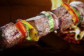 stock photo of kebab  - Kebab - JPG