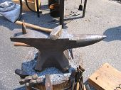 Anvil And Tools