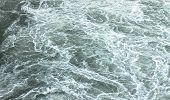foto of rough-water  - Sea waves texture for background - JPG
