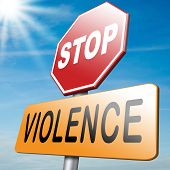 stock photo of stop fighting  - stop violence and aggression violent or aggressive actions no war or fights - JPG