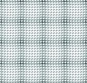 stock photo of grayscale  - Grayscale circle pattern with seamlessly repeatable geometry - JPG