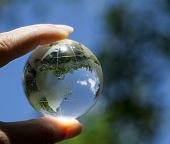 picture of continent  - World environmental concept - JPG