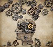 image of psychological  - Brain mental activity - JPG