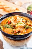 foto of tamarind  - hot and sour curry with tamarind sauce - JPG
