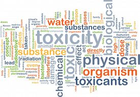 foto of toxic substance  - Background concept wordcloud illustration of toxicity - JPG