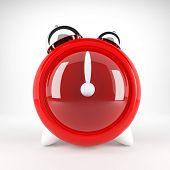 Relógio vermelho