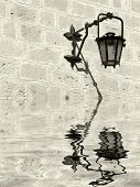 Medieval Lamp poster