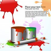holi vector background design