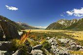 New Zealand's Hooker Valley View