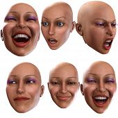 Female Emotions 4