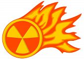 Radiation Flame