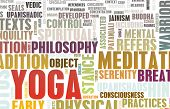 image of vedic  - Yoga Learning Exercise Class as a Background - JPG