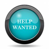 Help Wanted Icon poster