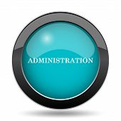 Administration Icon poster