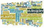 Plastic Surgery Concept as a Medical Procedure