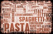 Pasta Assorted Variety Background As a Abstract