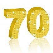 Dourado número setenta