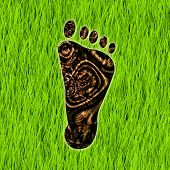 Carbon Footprint Reduction as a Concept Art