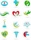 collection of medicine icons - 2