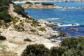seashore in greece